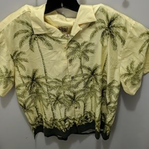Jos A Bank XL 100% Silk Hawaiian shirt #39